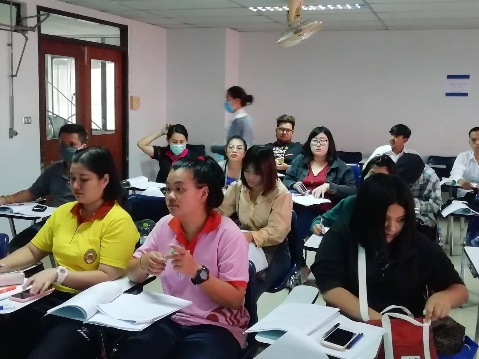 อบรม Intensive preparation for DRU Test ครั้งที่ 6